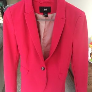 H&M Hot Pink Blazer
